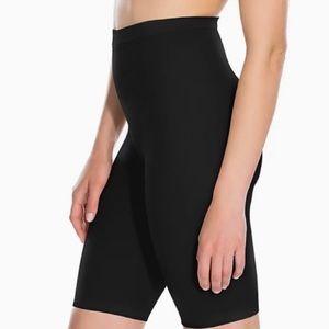 NEW Spanx Higher Power High Waist Black Power Panties Size E Underwear Shapewear